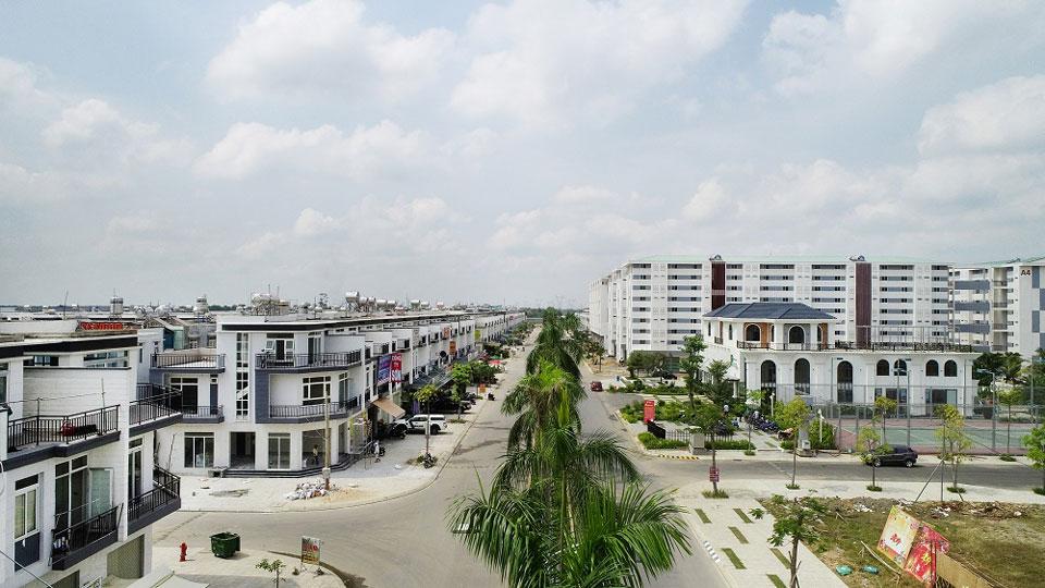 Phúc An City mở bán Block biệt thự View công viên