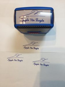 Nhận khắc dấu chữ ký online giá rẻ, chuyên nghiệp, nhanh chóng