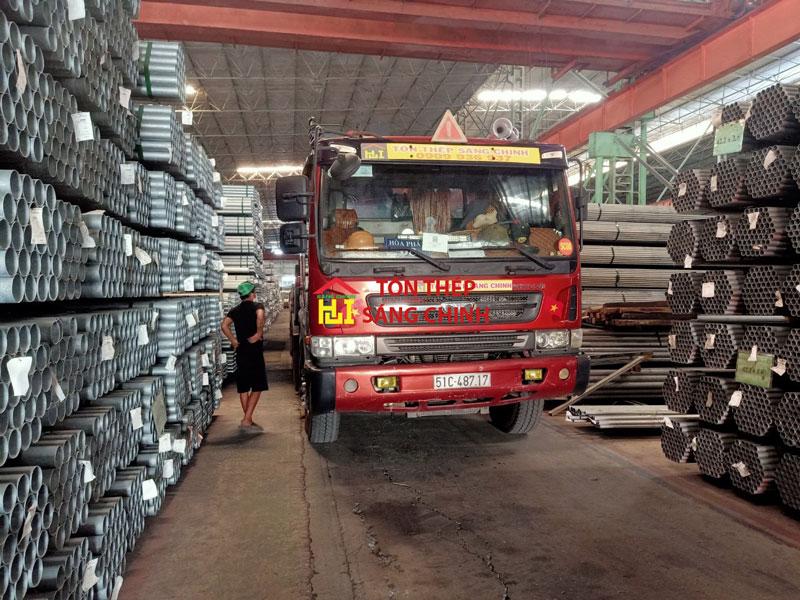 giá thép ống mạ kẽm Hòa Phát